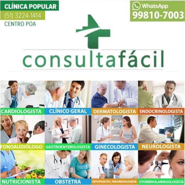 Consulta Fácil – Clínica Médica Popular