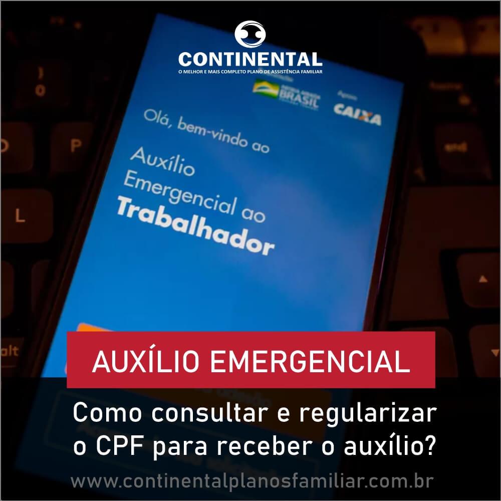 Veja como consultar e regularizar o CPF para receber o auxílio emergencial