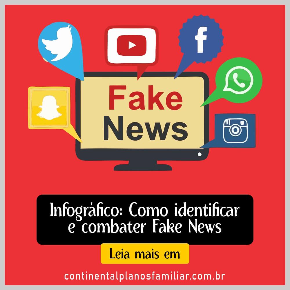 Infográfico dá dicas de como identificar e combater Fake News