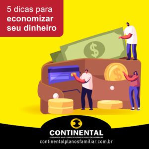 5 dicas para economizar seu dinheiro