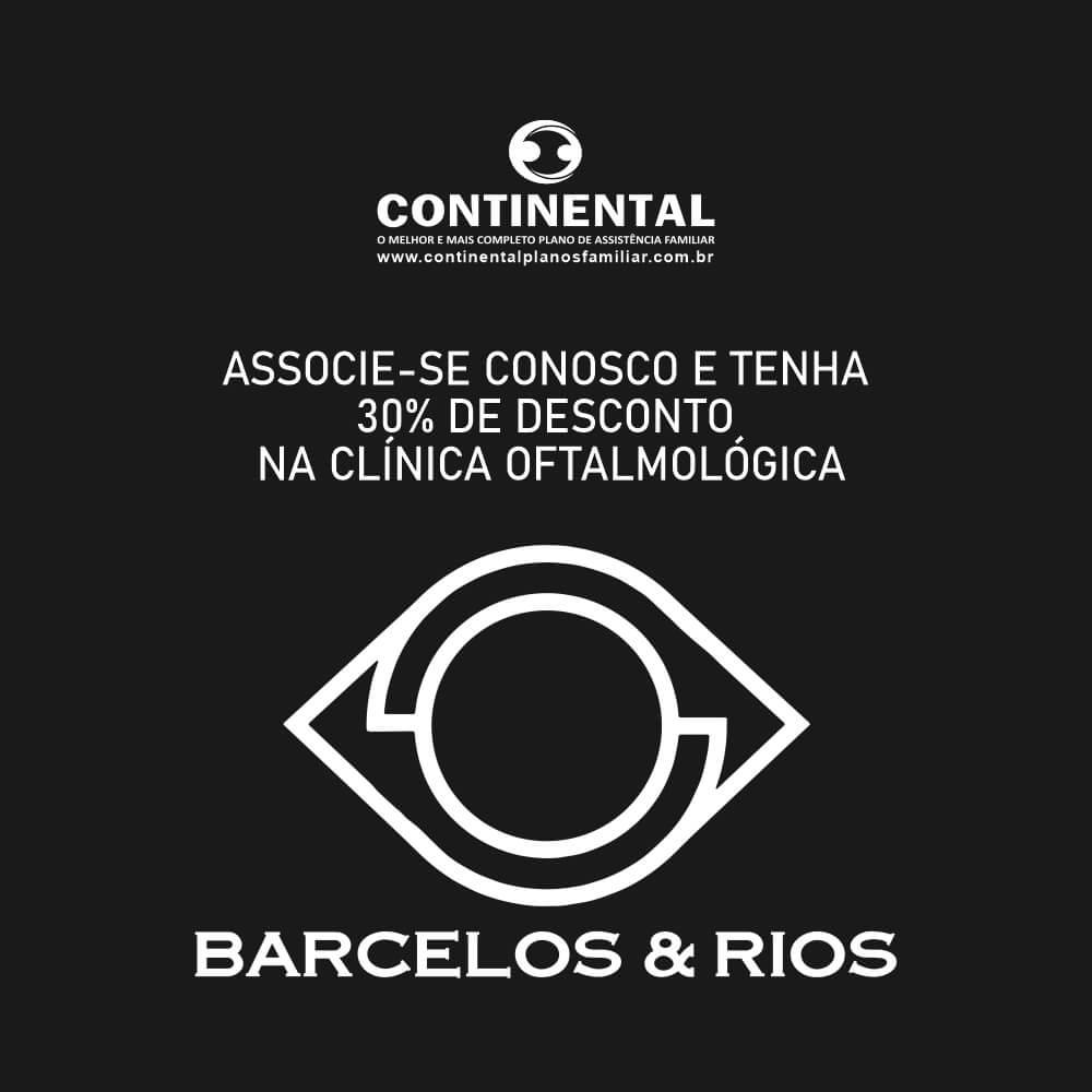 Associados com 30% de desconto na Clínica Barcelos e Rios