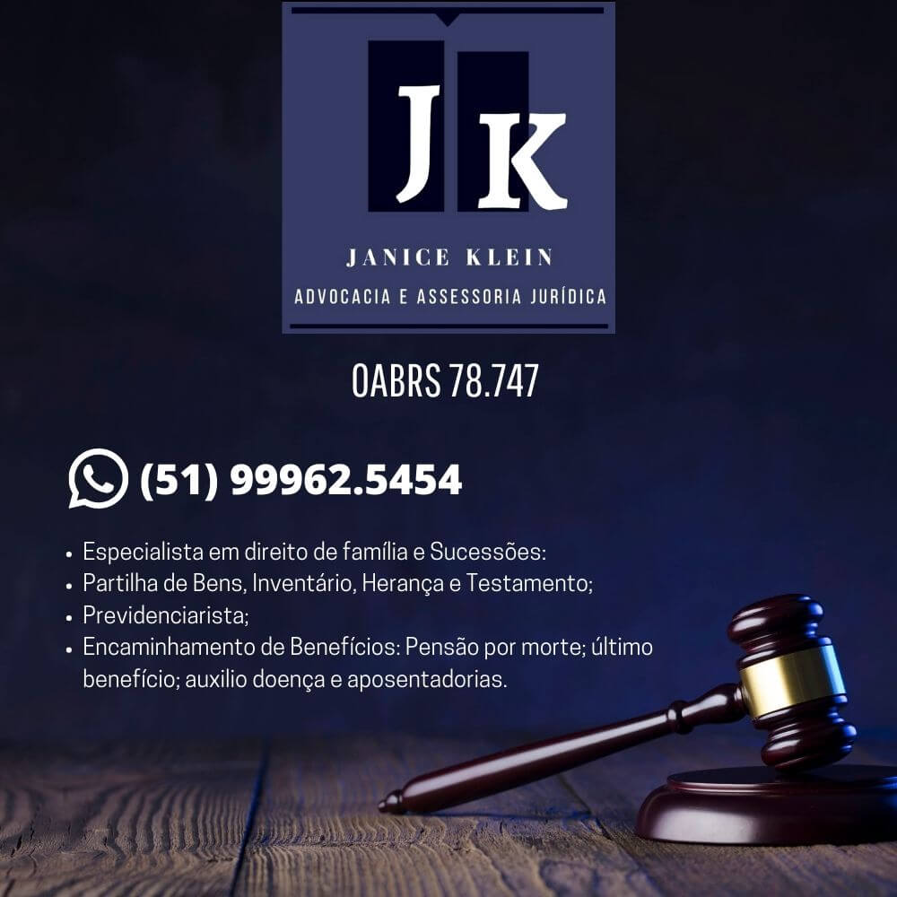 You are currently viewing Janice Klein , Assessoria jurídica